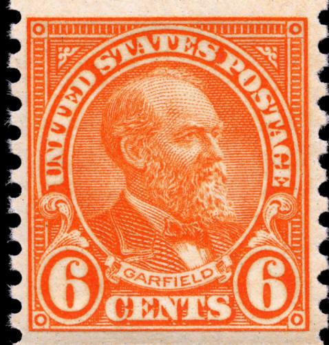 1932 6c James Abram Garfield, 20th President, Coil Scot