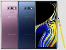 Samsung Galaxy Note 9 SM-N960U 128/512GB  UNLOCKED Ocean Blue / Purple/ Black