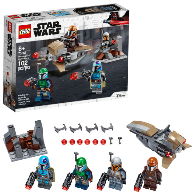 LEGO ® Star Wars ™ 75267 Marrone mandalorianer mandalorianischer guerriero sw1079 NUOVO