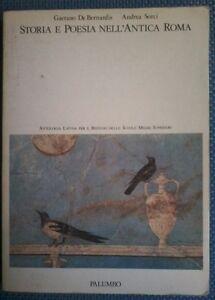 Storia-e-poesia-nell-039-Antica-Roma-G-De-Bernardis-A-Sorci-Palumbo-1989-L
