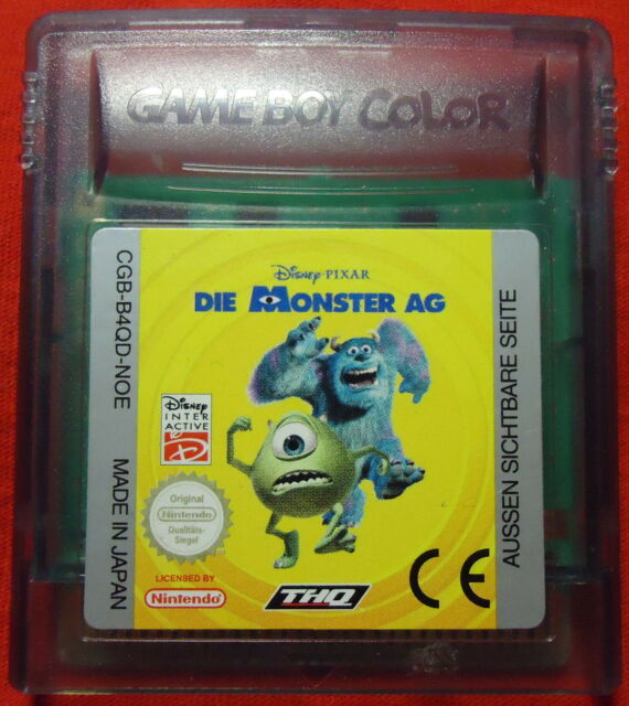 Die Monster AG - Disney Pixar - Nintendo Game Boy color / Advance