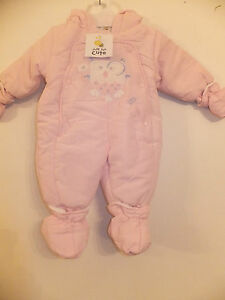 Baby & Toddler Clothing Gorgeous Baby Girls Snowsuit Age 0-3 Months Clothing, Shoes & Accessories
