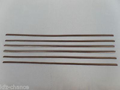 6x Wischergummis Scheibenwischergummi für Scheibenwischer Bosch Aerotwin 750mm