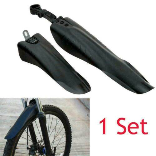 New Mountain Bike Front Rear Fender Mudguard Marsh Guard-Fit for 20/'/'-26/'/' Bikes