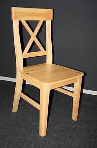 Kuchenstuhl Stuhl Landhaus Stil Stuhle Esszimmer Holz Kiefer Massiv