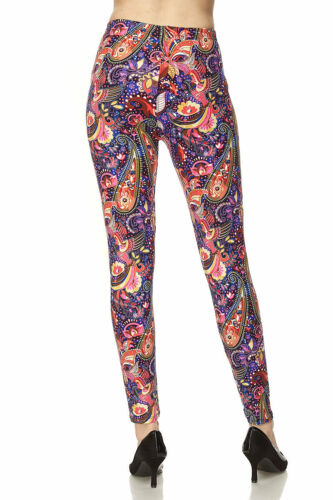 Leggings TC//89 Buttery Soft Always Paisley Brushed ONE SIZE