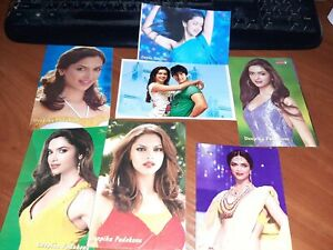 7-psc-postcard-Bollywood-acttress-Deepika-Pandukone-Rare-postcard-post-card