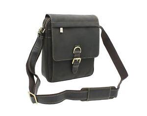 100% QualitäT Visconti Leather Messenger Bag Style 16011 Diversifizierte Neueste Designs