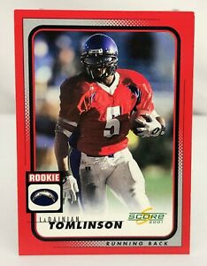 2001-Score-283-LaDainian-Tomlinson-RC-San-Diego-Chargers