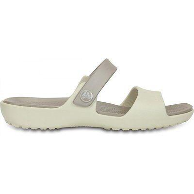 Crocs Women's Coretta White Slip-on Sandals