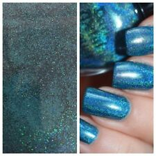 SB Blue Holographic MERMAID EFFECT Nail Art Powder Glitter GEL & ACRYLIC 5g