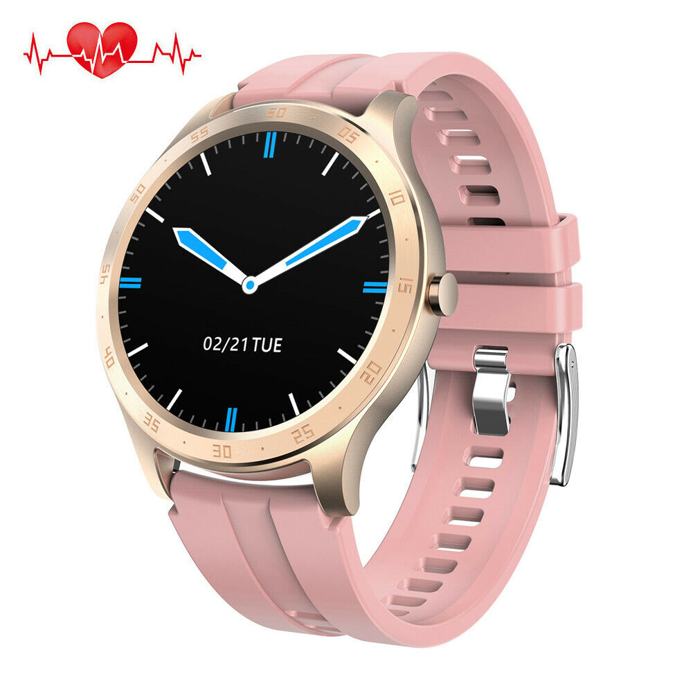 Women Girls Smart Watch Heart Rate Wrist Watch for iPhone Samsung S20 S10 S9 S8+
