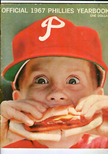 1967-Philadelphia-Phillies-Yearbook-Early-Vintage-MLB-Baseball-Antique-Old-1960s
