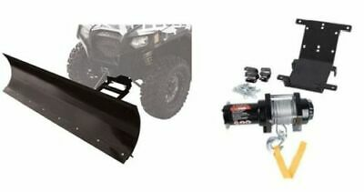 Yamaha RHINO 450 660 700 4X4 2004–2013 Tusk Winch with Wire Rope and Mount Plate