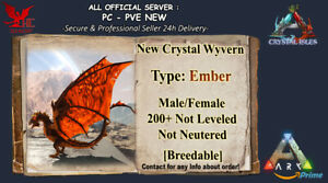 Ark-Survival-Evolved-PC-PC-PVE-NEW-NEW-EMBER-WYVERN-Level-200-Breed