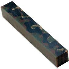 Woodland Camo Acrylic Pen Blank 103016