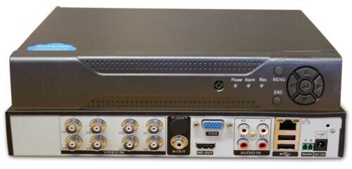 Videoregistratore AHD 8 canali digitale ibrido - DVR 8408  4 Megapixel