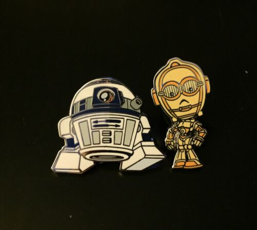 Star Wars C3-PO /& R2-D2 Disney Pins From Mystery Pack NEW 2015 Droids 2 PINS