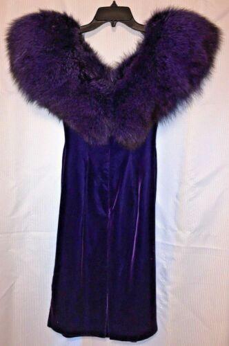 Vintage Eugene Alexander Formal Dress Size 4 Velve