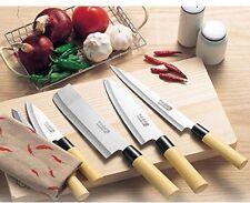 Sushi Knife Set 5 Pcs Chef Stainless Steel Japanese Kitchen Sashimi Cutlery Pack