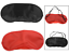 Travel-Eye-Mask-Shade-Cover-Blindfold-Night-Sleeping-Blackout-Red-or-Black thumbnail 1