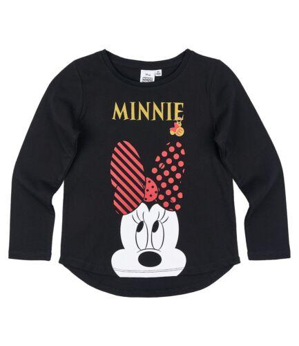 Disney Minnie Girls T-Shirt Long Sleeve