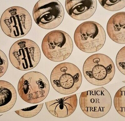 8-24 Halloween Freaky Scary STICKERS SCRAPBOOKING CRAFT EMBELLISHMENT