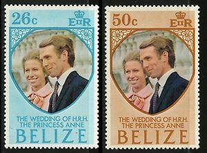 Belize-1973-Scott-325-326-MLH-Set