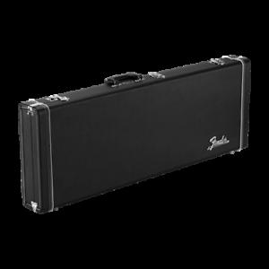 NEW-Fender-Classic-Series-Wood-Guitar-Hard-Case-Stratocaster-Telecaster-Black