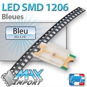 LED-SMD-CMS-1206-Bleues-Blue-Bleu-Lots-multiples-prix-degressifs