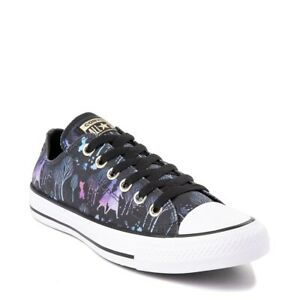 Details about NEW Converse x Frozen 2 Chuck Taylor All Star Lo Enchanted Forest Sneaker Womens