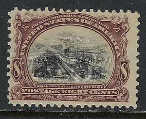 SCOTT-298-1901-8-CENT-PAN-AMERICAN-EXPOSITION-ISSUE-MNH-OG-F-VF-CAT-150