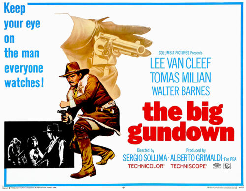The Big Gundown 1966 Movie Poster