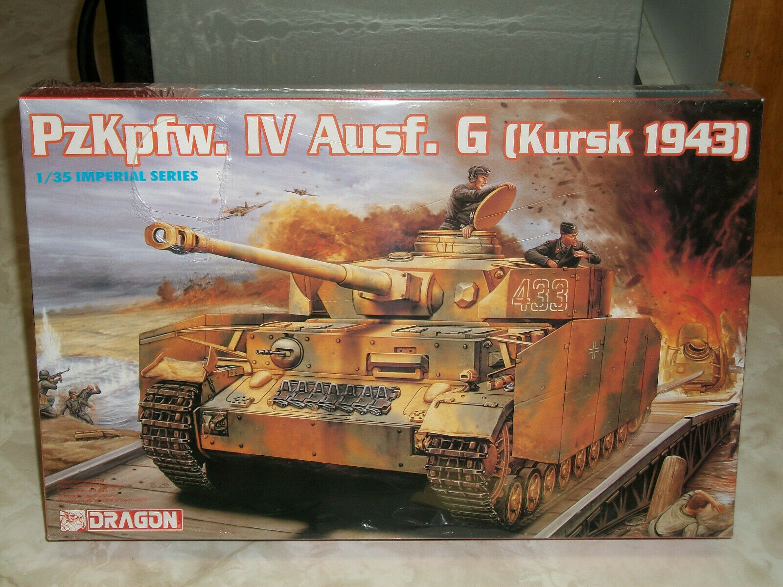 Dragon 1 35 Scale PzKpfw. IV Ausf. G (Kursk 1943) - Factory Sealed
