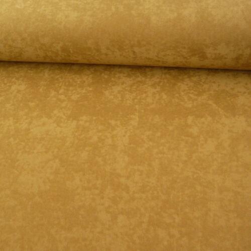 Vêtements Tissu velourstoff Uni Marron Clair Largeur 1,5 m