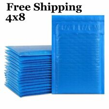 1 500 000 4x8 Poly Blue Color Padded Bubble Mailers Fast Shipping