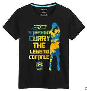 outlet store b066c b9896 Details about STEPH STEPHEN CURRY #30 KIDS YOUTH JERSEY TOPS T SHIRTS SHIRT  GOLDEN STATE