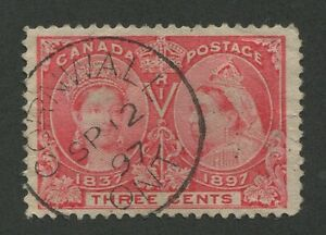 CANADA-53-USED-JUBILEE-SUNDAY-CDS-CANCEL-034-CORNWALL-ONT-034