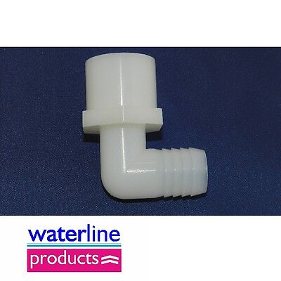 Nylon Fitting 90 Elbow Hose Barb Female Thread