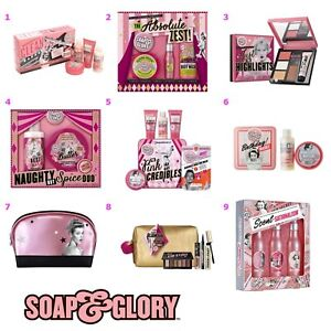 Image is loading Soap-and-Glory-Gift-Set-Makeup-Bag-Ladies-