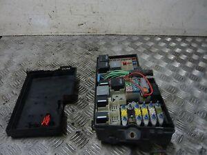 Details about FORD FOCUS LX 1.8 TDCI 2007 5DR UNDER BONNET FUSE BOX on