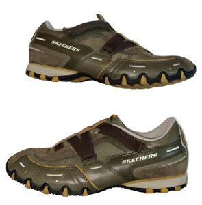 Skechers Womens Olive Green Brown US