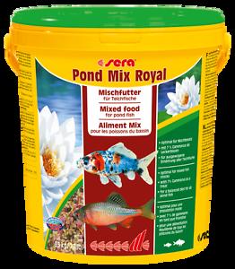 21 liter sera pond mix royal fischfutter gartenteich for Gartenteich goldfische