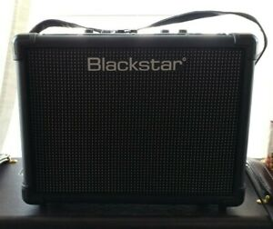 blackstar id core 10 stereo guitar combo amplifier used amp w power supply ebay. Black Bedroom Furniture Sets. Home Design Ideas