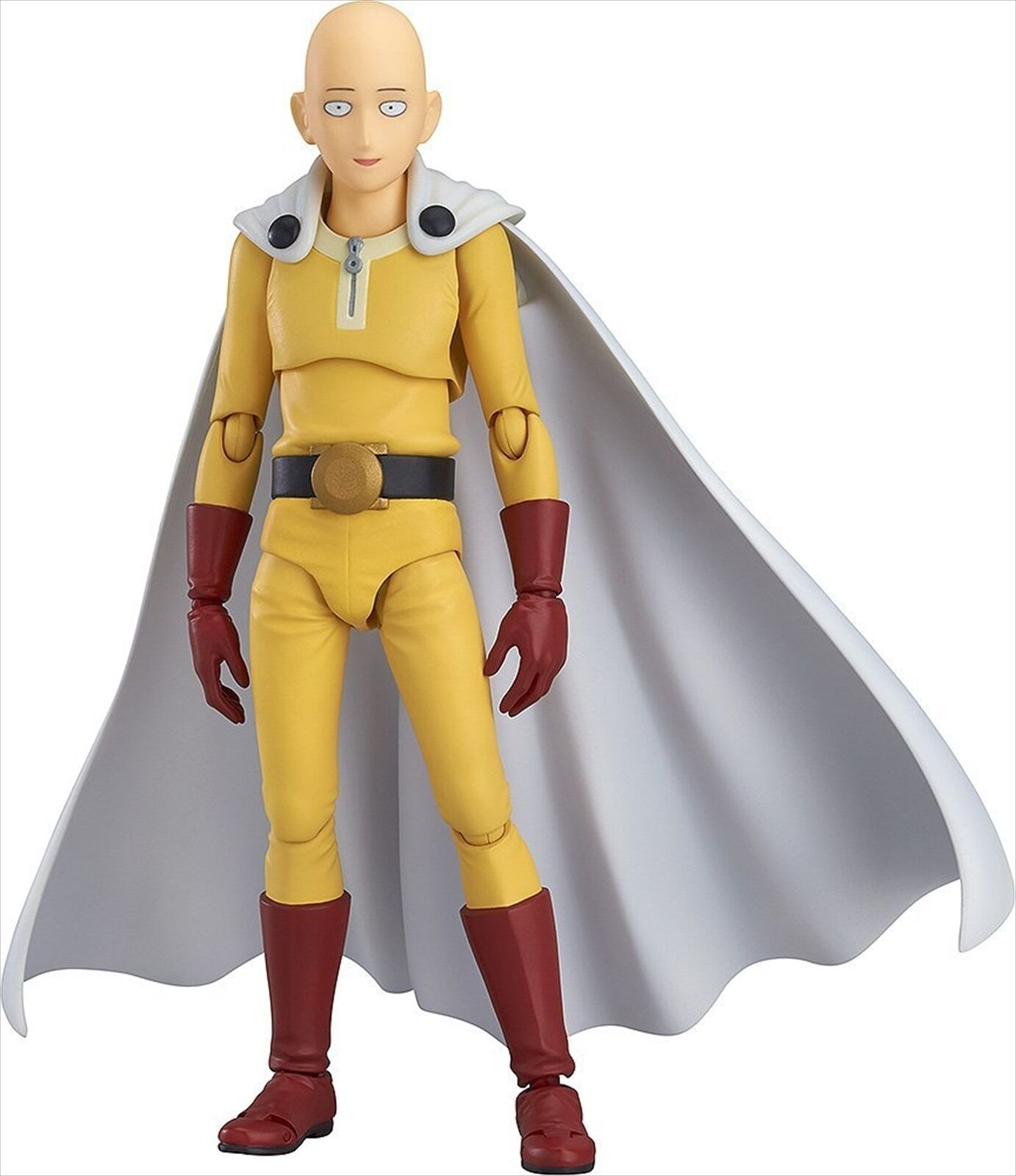 Max Factory figma One Punch Man Saitama Painted Action Figure