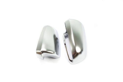 a6 s6 c6 Tapas de espejo-set en aluminio Matt completa carcasa-audi a4 s4 b7