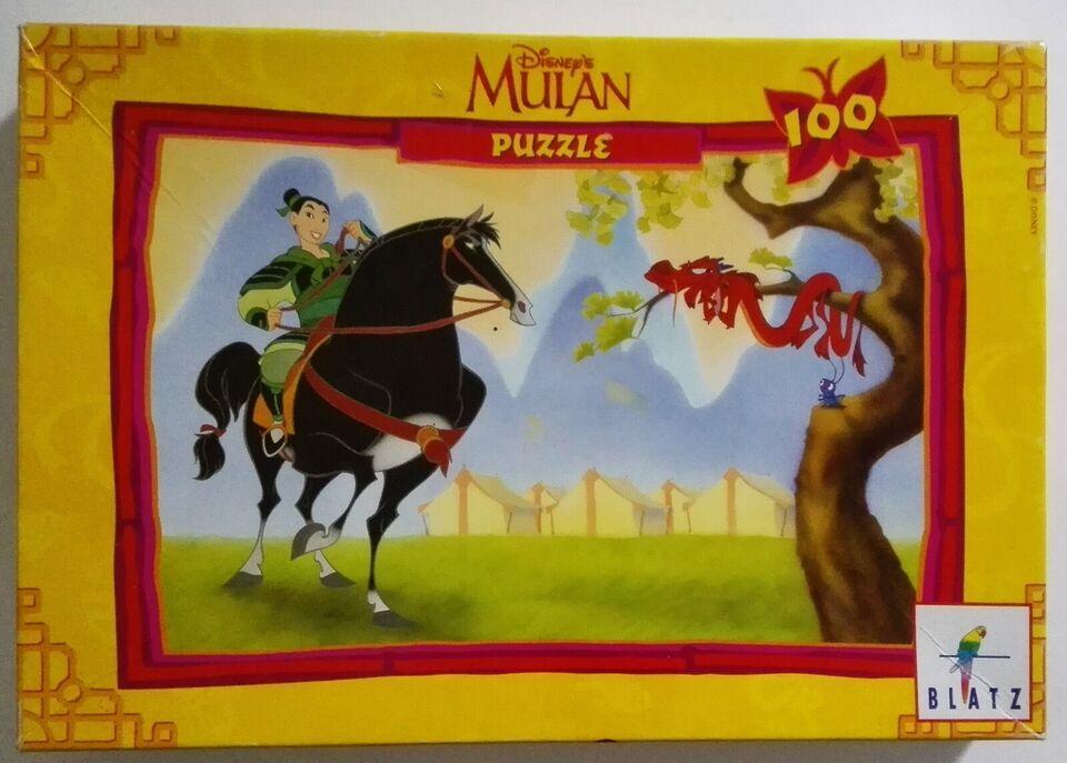 Mulan (Disney), 100 brikker Blantz, puslespil