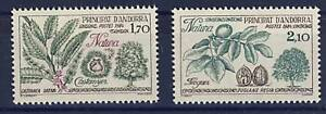 Stamps Impartial Timbre Andorre Neuf** N° 331 Et 332 Flore Arbres
