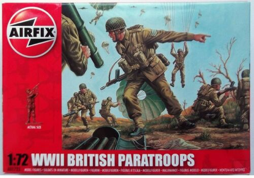 AIRFIX A01723 WWII British Paratroops échelle 1//72 non peinte figures