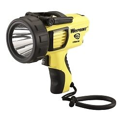 Streamlight 44910 Waypoint Rechargeable Pistol Grip Spotlight With Ac Yellow
